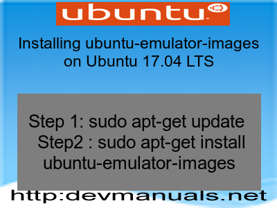 Installing ubuntu-emulator-images on Ubuntu 17.04 LTS